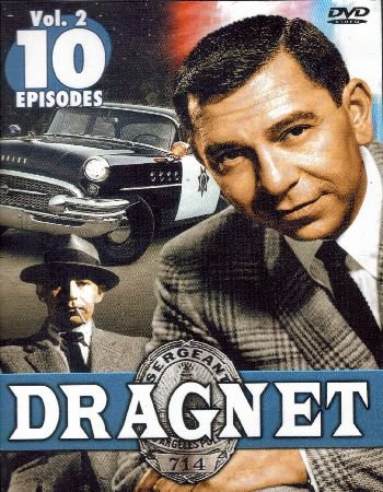 DRAGNET - Volume 2 - 10 Episodes - DVD