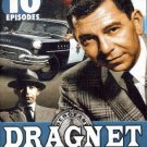 DRAGNET - Volume 2 - 10 Episodes - DVD