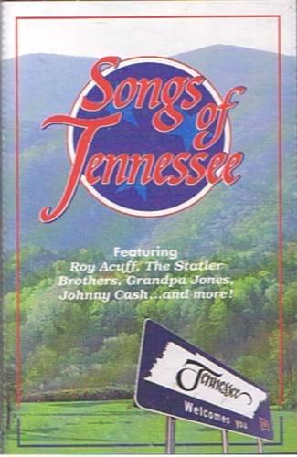 SONGS OF TENNESSEE - Various Artist (1994) - Cassette Tape