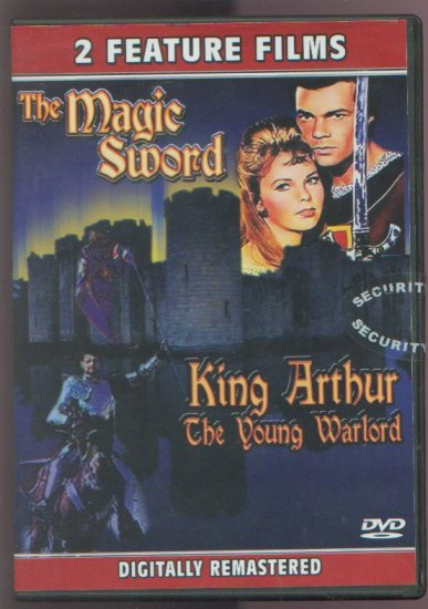 THE MAGIC SWORD (1962) / KING ARTHUR THE YOUNG WARLORD (1975)  - DVD