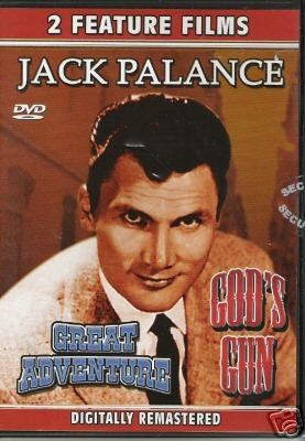 JACK PALANCE - God's Gun (1980) / Great Adventure (1975) - DVD