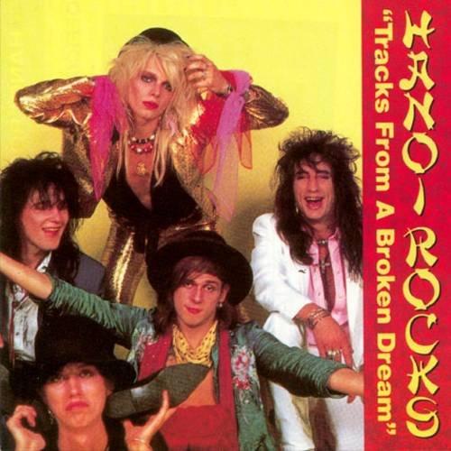 HANOI ROCKS - Tracks From A Broaken Dream (1990) - Cassette tape