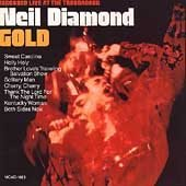 NEIL DIAMOND - Gold (1989) - Cassette Tape