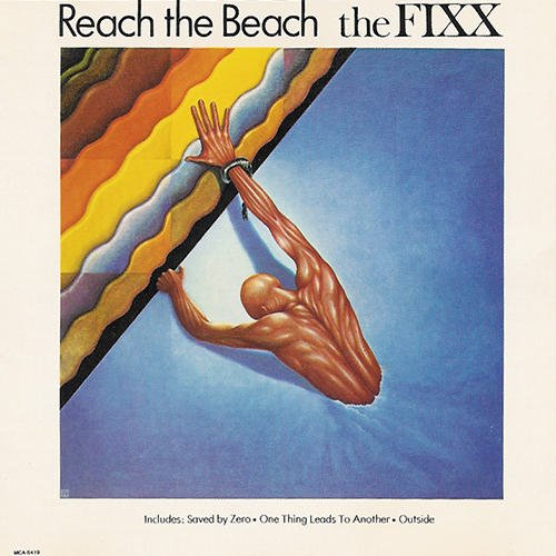 THE FIXX - Reach The Beach (1983) - Cassette Tape