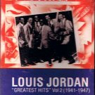 LOUIS JORDAN - Greatest Hits Volume 2 (1982) - Cassette Tape