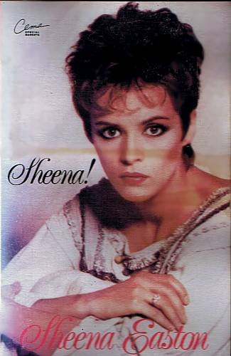 SHEENA EASTON - Sheena! (1987) - Cassette Tape