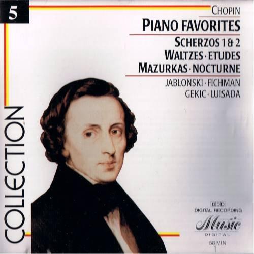 CHOPIN - Piano Favorites -  CD