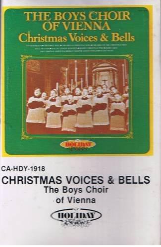 THE BOYS CHOIR OF VIENNA - Christmas Voices & Bells (1980) - Cassette Tape