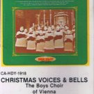 THE BOYS CHOIR OF VIENNA - Christmas Voices & Bells (1980) - Cassette Tape