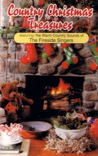 THE FIRESIDE CAROLERS  - Country Christmas Treasures - Cassette tape