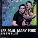 LES PAUL & MARY FORD - Bye Bye Blues (1982) - Cassette Tape