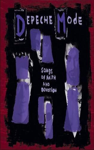 DESPECHE MODE - Songs Of Faith And Devotion (1993) - Cassette Tape