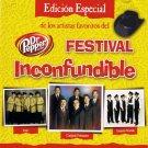 FESTIVAL INCONFUNDIBLE DE DR. PEPPER - Varios Artistas - CD