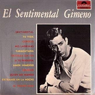 GIMENO - El Sentimental Gimeno - LP