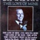 FRANK SINATRA - This Love Of Mine (1984) - Cassette Tape