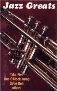 JAZZ GREATS - Basie/ Brubeck / Ellington / Armstrong (1975) - Cassette Tape