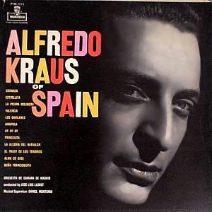 ALFREDO KRAUS - Of Spain - LP