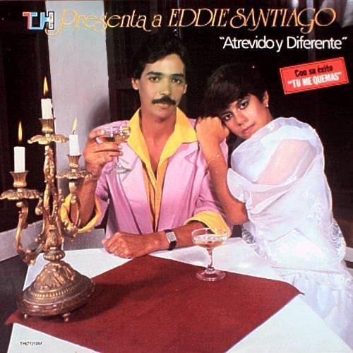 EDDIE SANTIAGO - Atrevido Y Diferente (1986) - LP