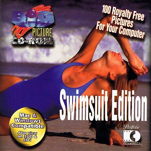 SWIMSUIT EDITION - 100 Royalty Free Pictures (1995) - Photo CD-Rom