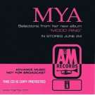 MYA - Mood Ring (2003) - CD Promo