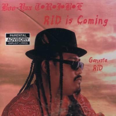 GANXSTA RID / THE OTHA SIDE -  Rid Is Coming {Explicit Lyrics}(1995) - 4 Track CD Single