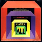 GAMES ALL (1993) - CD-ROM Game