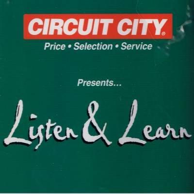 VARIOUS ARTIST - Circuit City Presents: Listen & Learn (1998) - CD