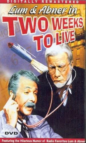 TWO WEEKS TO LIVE (1943) - DVD