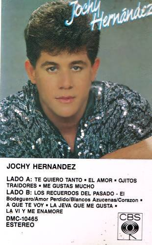 JOCHY HERNANDEZ - Jochy Hernandez (1986) - Cassette Tape