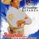 JOSE GUADALUPE ESPARZA - Recuerdos... Con Mariachi (1998) - Cassette Tape