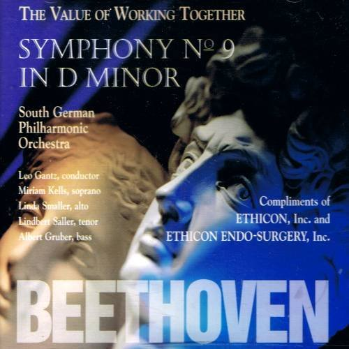 """BEETHOVEN - Symphony No. 9 in D Minor """"Choral """" Op.125 (1995) - CD"""