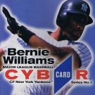 MLB CybrCard Series No. 1: Bernie Williams - CD-ROM
