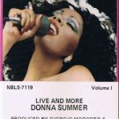 DONNA SUMMERS - Live and More (1978) - 2 Cassette Tapes