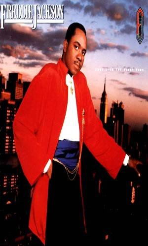 FREDDIE JACKSON - Just Like The First Time (1986) - Cassette Tape