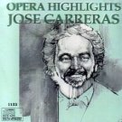 JOSE CARRERAS - Opera Highlights (1993) - CD