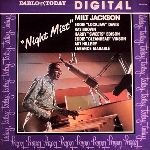 MILT JACKSON - Night Mist (Digital) (1981) - LP