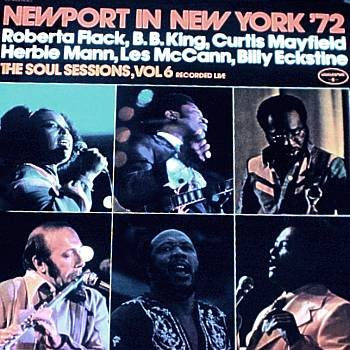 VARIOUS ARTIST - Newport In New York '72- The Soul Sessions Vol. 6 (1972) - LP