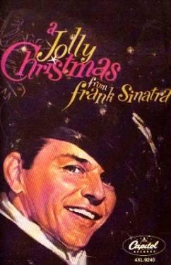 FRANK SINATRA - A Jolly Christmas From Frank Sinatra (1985) - Cassette Tape