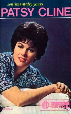 PATSY CLINE - Sentimentally Yours(1988) - Cassette Tape