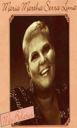 MARIA MARTHA SERRA LIMA - Mis Boleros (1989) - Cassette Tape