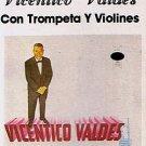 VICENTICO VALDES - Con Trompeta Y Violines (1986) - Cassette Tape