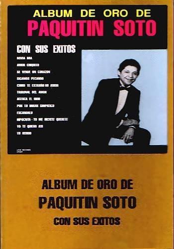 PAQUITIN SOTO - Album De Oro - Cassette Tape