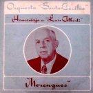 ORQUESTA SANTA LUCIA - Homenaje A Luis Alberti - Merengues - LP