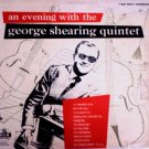 GEORGE SHEARING QUINTET - An Evening With George Shearing (1954) - LP