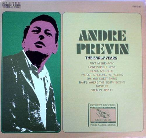 ANDRE PREVIN - The Early Years - LP