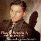 CHECO ACOSTA Y SU ORQUESTA - Con Sabor Y Sentimiento (1993) - CD