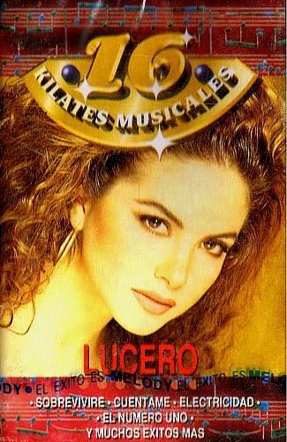 LUCERO - 16 Kilates Musicales (1994) - Cassette Tape
