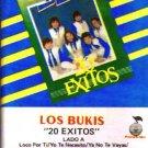 LOS BUKIS - 20 Exitos (1987) - Cassette Tape