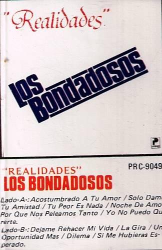 LOS BONDADOSOS - Realidades (1986) - Cassette Tape