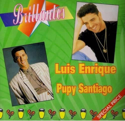 LUIS ENRIQUEZ Y PUPY SANTIAGO - Brillantes (1994) - CD